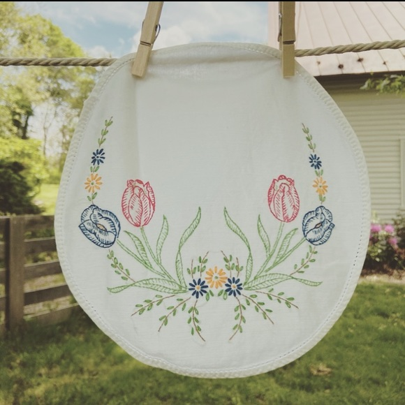 Vintage Embroidered Cloth